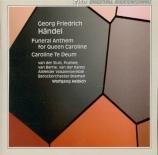 HAENDEL - Helbich - The ways of Zion do mourn, anthem HWV.264 (aussi 'Fu