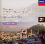 MOZART - Britten - Symphonie n°25 en sol mineur K.183 (K6.173dB)