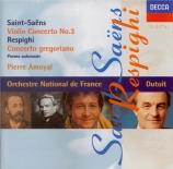 SAINT-SAËNS - Amoyal - Concerto pour violon n°3 op.61