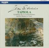 SIBELIUS - Berglund - Tapiola, poème symphonique pour orchestre op.112