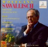 BACH - Sawallisch - Concerto brandebourgeois n°5 pour orchestre en ré ma