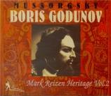 MOUSSORGSKY - Golovanov - Boris Godounov