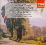 VAUGHAN WILLIAMS - Haitink - Symphonie n°5
