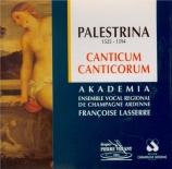 PALESTRINA - Akadêmia - Canticum canticorum