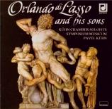 Orlando di Lasso and his sons