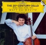 The 20th Century Cello Vol.1