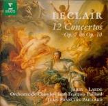 LECLAIR - Paillard - Concerto pour violon en sol mineur op.10 n°6
