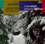 BRAHMS - Désert - Sonate pour deux pianos op.34b (transcription du quint