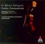 GAGNEUX - Rostropovich - Triptyque, pour violoncelle et orchestre