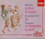 MASSE - Cruchon - Noces de Jeannette (Les) : extraits