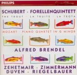 SCHUBERT - Brendel - Quintette avec piano en la majeur op.posth.114 D.66