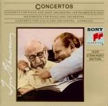 STRAVINSKY - Stravinsky - Concerto pour violon et orchestre en ré majeur