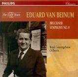 BRUCKNER - Van Beinum - Symphonie n°9 en ré mineur WAB 109