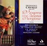 CAVALLI - Lasserre - Vespro della Beata Vergine Maria
