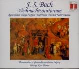 BACH - Thomas - Oratorio de Noël(Weihnachts-Oratorium), pour solistes