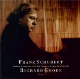 SCHUBERT - Goode - Sonate pour piano en la mineur op.42 D.845