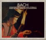 BACH - Biondi - Sonate pour violon et clavier n°1 en si mineur BWV.1014