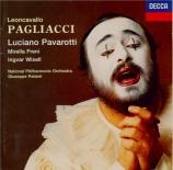 LEONCAVALLO - Pavarotti - I Pagliacci (Paillasse)