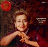 MOZART - De Larrocha - Sonate pour piano n°18 en fa majeur K.533