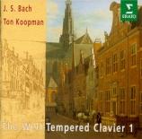 BACH - Koopman - Le clavier bien tempéré, Livre 1 BWV 846-869