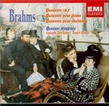 BRAHMS - Quatuor Hongroi - Quintette avec piano en fa mineur op.34
