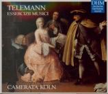 TELEMANN - Camerata Köln - Essercizzi musici