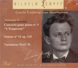 BEETHOVEN - Kempff - Sonate pour piano n°31 op.110 Cycle Beethoven Vol.5