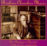BRAHMS - Budapest String - Quatuor à cordes n°2 en la mineur op.51 n°2
