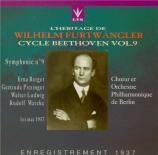 Beethoven Vol.9 Live 1er mai 1937
