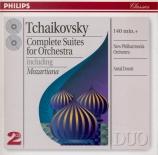TCHAIKOVSKY - Dorati - Suite pour orchestre n°1 en ré mineur op.43