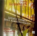 SCHUBERT - Ciocarlie - Sonate pour piano en si bémol majeur D.960