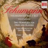 SCHUMANN - Funke - Sonate pour violon et piano n°1 en la mineur op.105