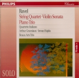 RAVEL - Quartetto Itali - Quatuor à cordes en fa majeur