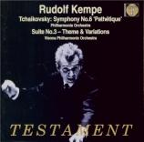 TCHAIKOVSKY - Kempe - Symphonie n°6 en si mineur op.74 'Pathétique'