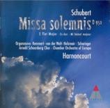 SCHUBERT - Harnoncourt - Messe n°6 en mi bémol majeur, pour solistes, ch