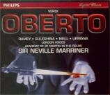 VERDI - Marriner - Oberto, conte di San Bonifacio, opéra en deux actes