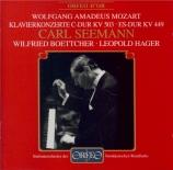 MOZART - Seemann - Concerto pour piano et orchestre n°25 en do majeur K
