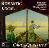 Musique romantique pour quintette vocale