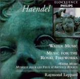 HAENDEL - Leppard - Water Music HWV.348-350