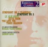 PROKOFIEV - Tilson Thomas - Symphonie n°5 en si bémol majeur op.100