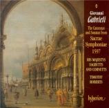 Canzone et sonates (16) de 'Sacrae symphoniae'