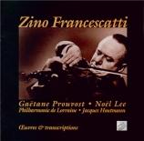 Oeuvres originales pour violon et piano...