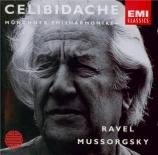 RAVEL - Celibidache - Boléro, ballet pour orchestre en do majeur