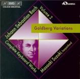 BACH - Suzuki - Variations Goldberg, pour clavier BWV.988