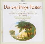 SCHUBERT - Wallberg - Der vierjährige Posten, singspiel D.190