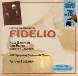 BEETHOVEN - Toscanini - Fidelio, opéra op.72
