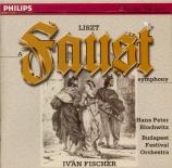 LISZT - Fischer - Faust symphonie, pour orchestre, ténor et chœur ad lib