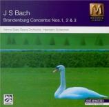 BACH - Scherchen - Concerto brandebourgeois n°1 pour orchestre en fa maj
