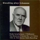 SCHUMANN - Gieseking - Études symphoniques, pour piano op.13