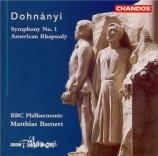 DOHNANYI - Bamert - Symphonie n°1 op.9